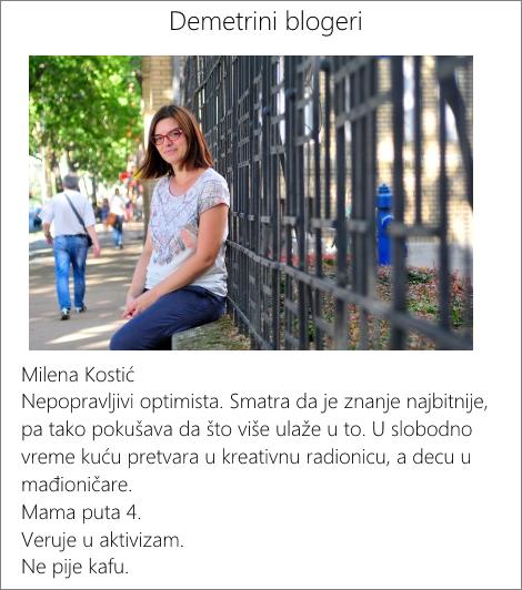 Milena blogeri